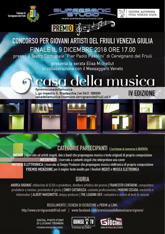Premio Casa della Musica Cervignano