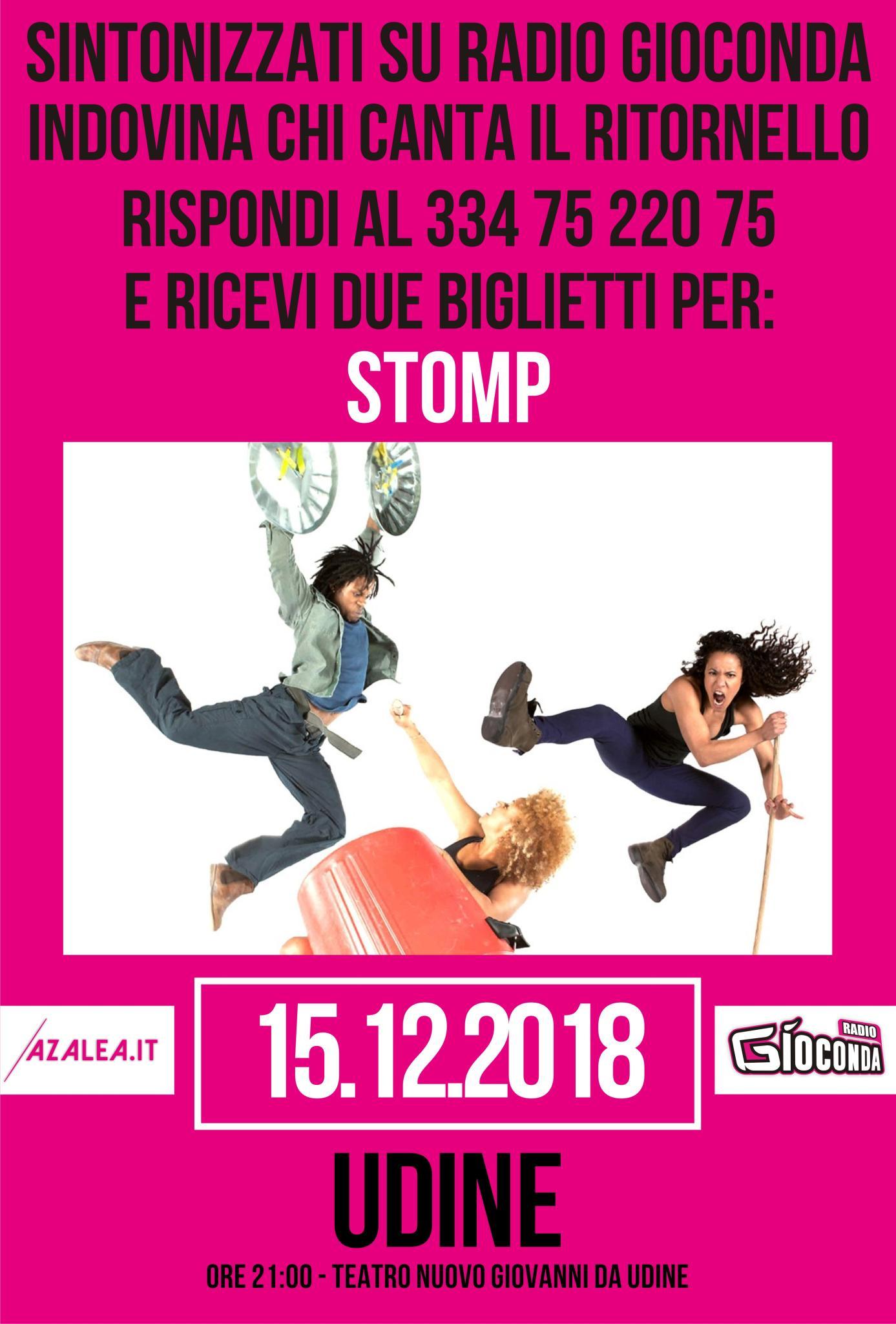 Indovina Indovinello Stomp Udine