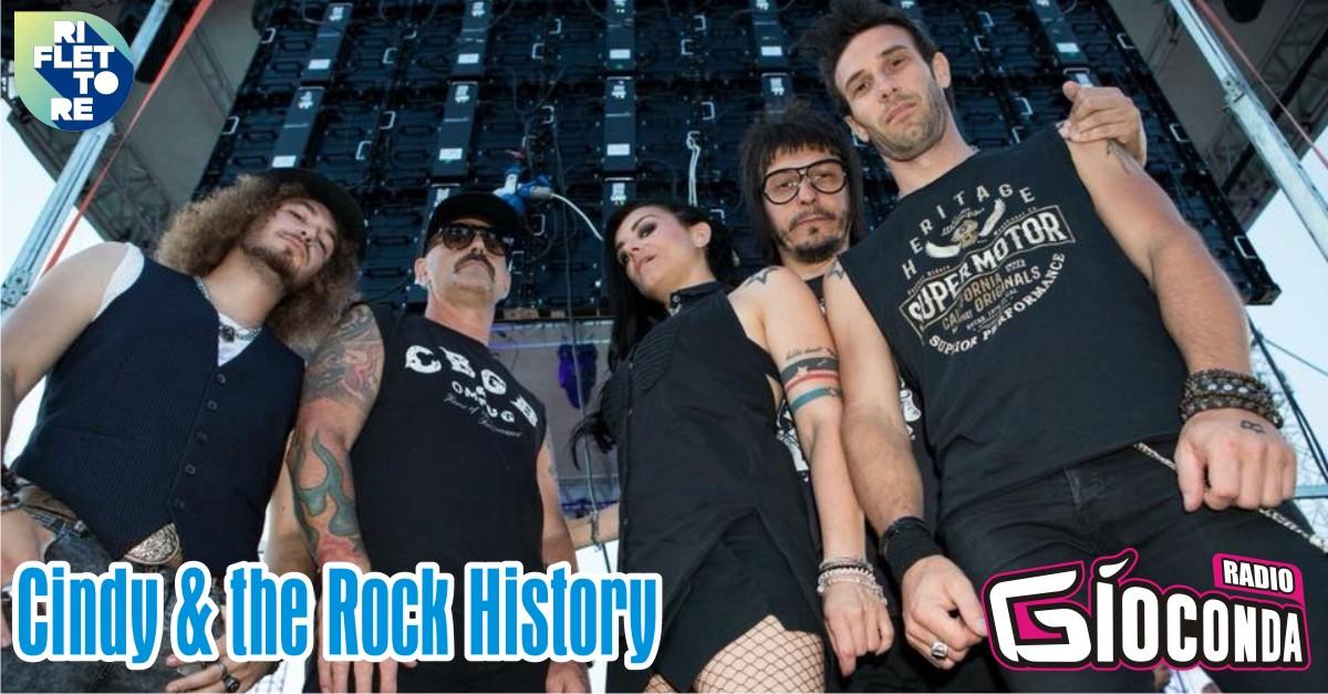 Riflettore con Cindy & the Rock History