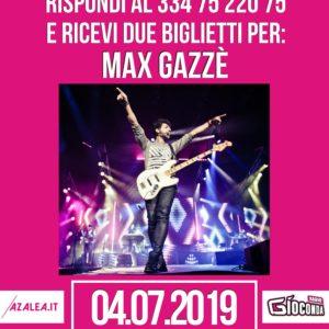 Indovina Indovinello Max Gazzè a Udine