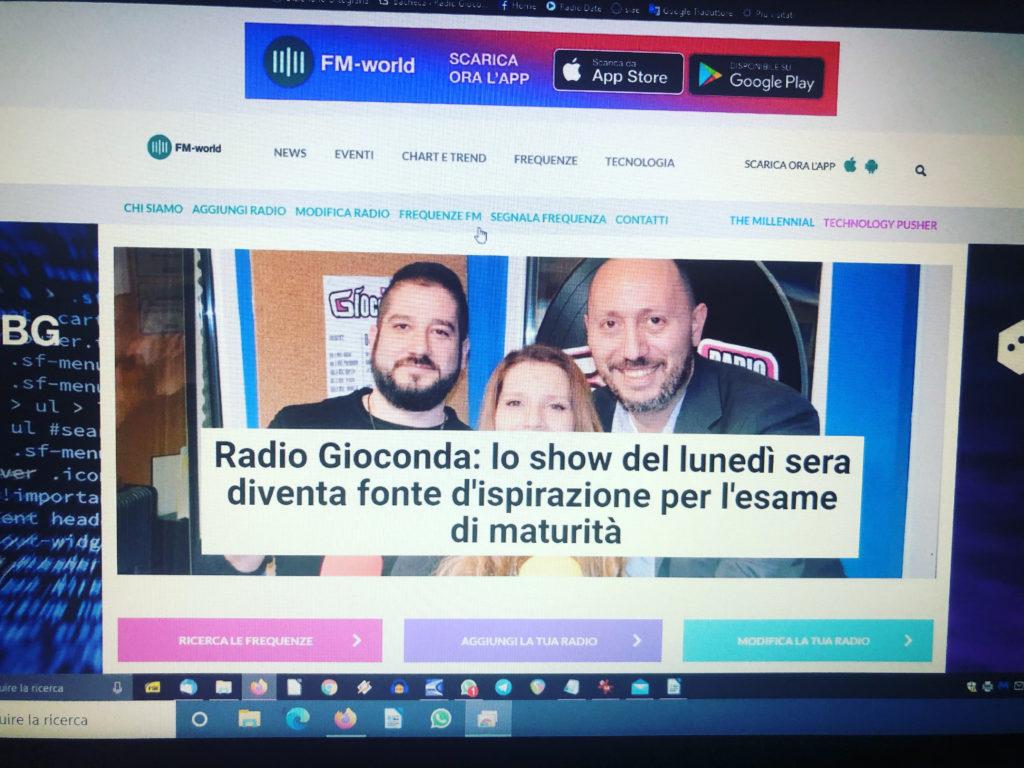 Da FM-World del 29 giugno