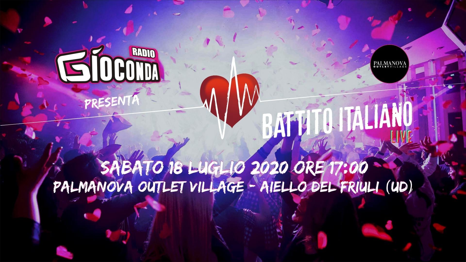 Battito Italiano Live dal Palmanova Outlet