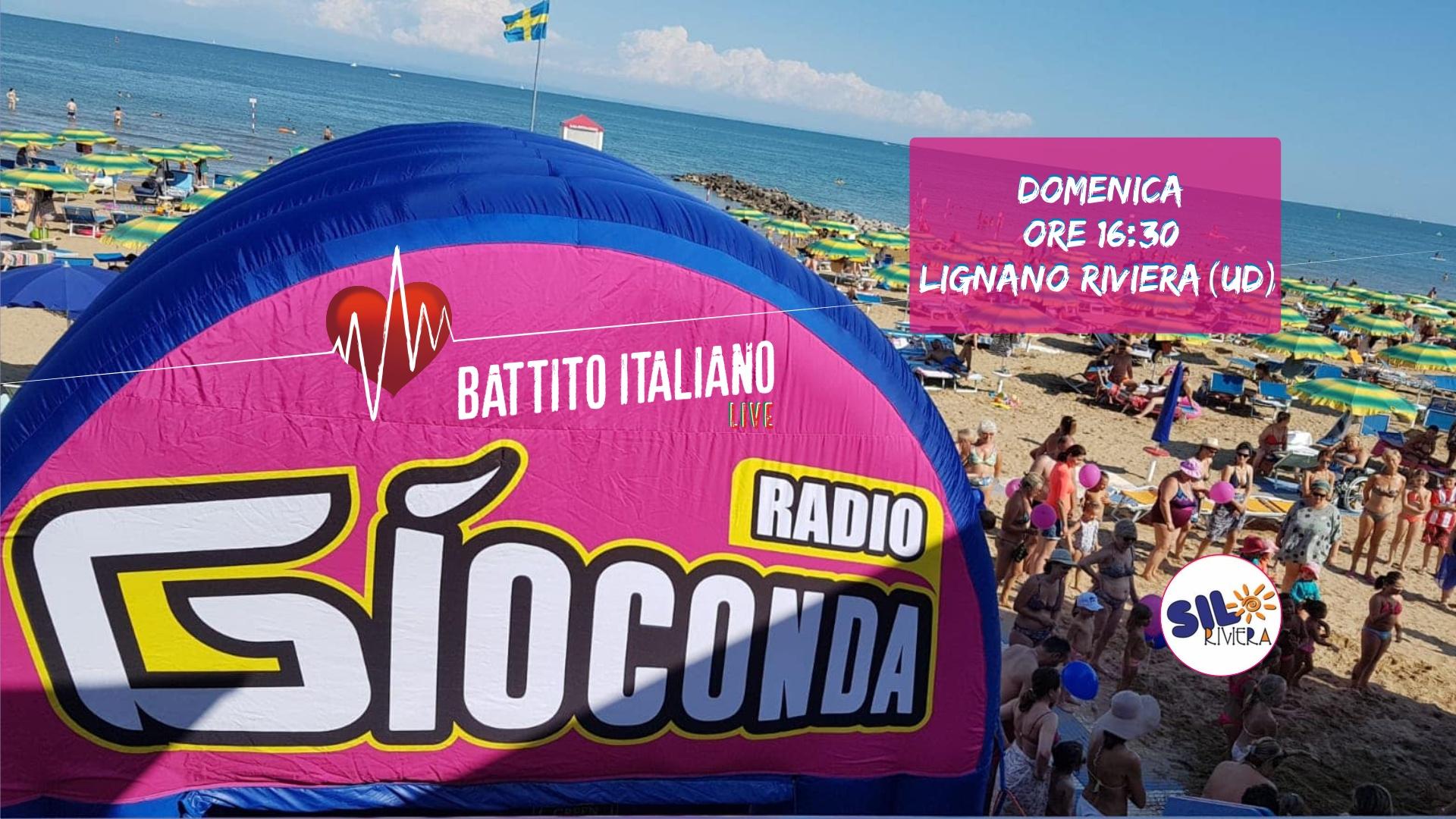 Battito Italiano Live da Lignano Riviera Spiaggia