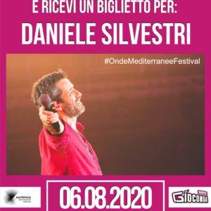 """Su #RadioGioconda """"Indovina Indovinello – chi canta il ritornello?"""", il mini quiz che oggi ti da la possibilità di vincere i biglietti per DANIELE SILVESTRI """"La Cosa Giusta Tour 2020"""" a Grado"""