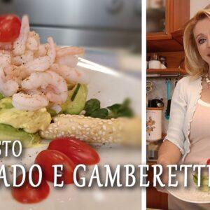 antipasto con avocado e gamberetti - Radio Gioconda