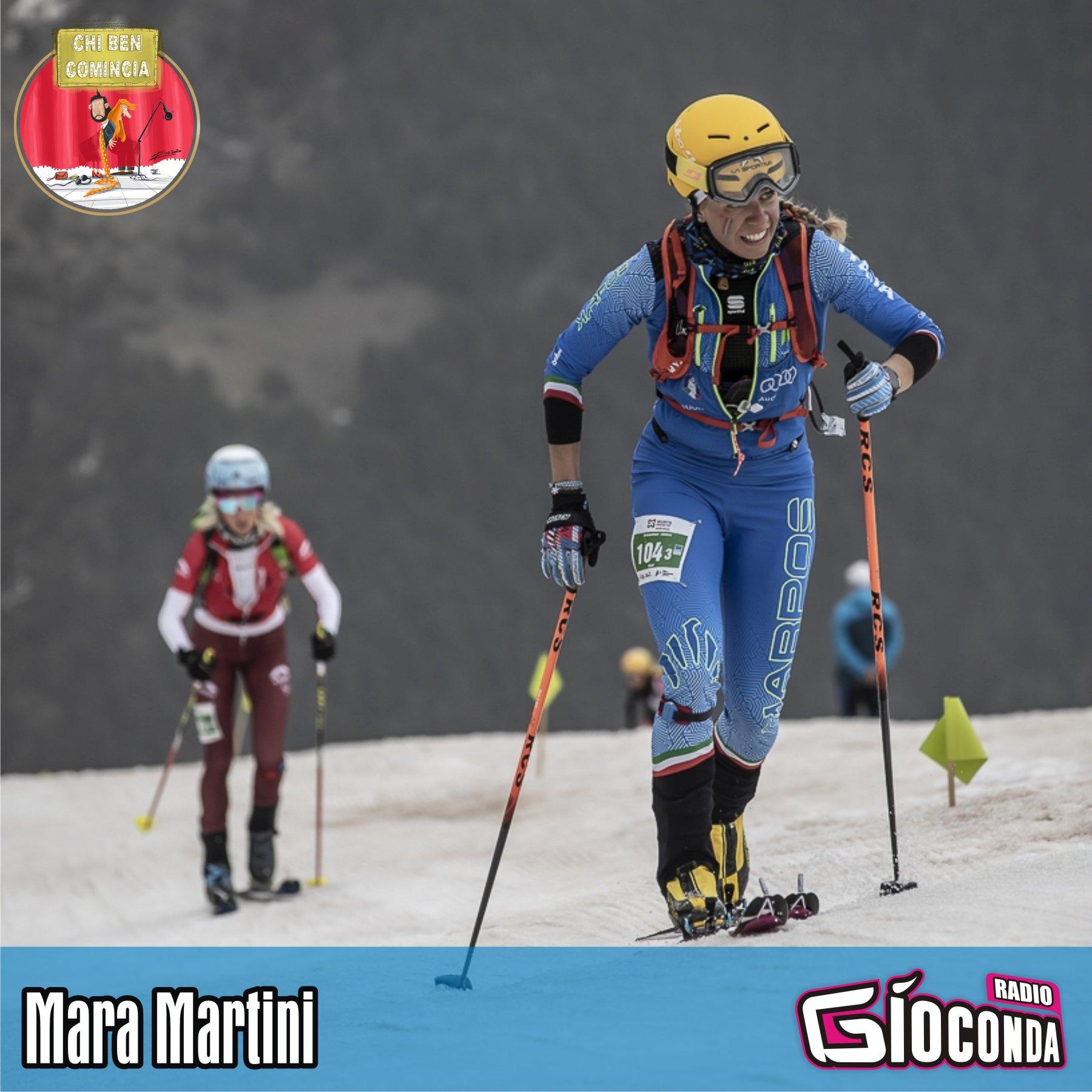 """L'ospite d'onore della nuova puntata di """"Chi ben comincia"""", in onda lunedì 22 marzo, sarà la campionessa del Mondo di Ski Alp Mara Martini"""