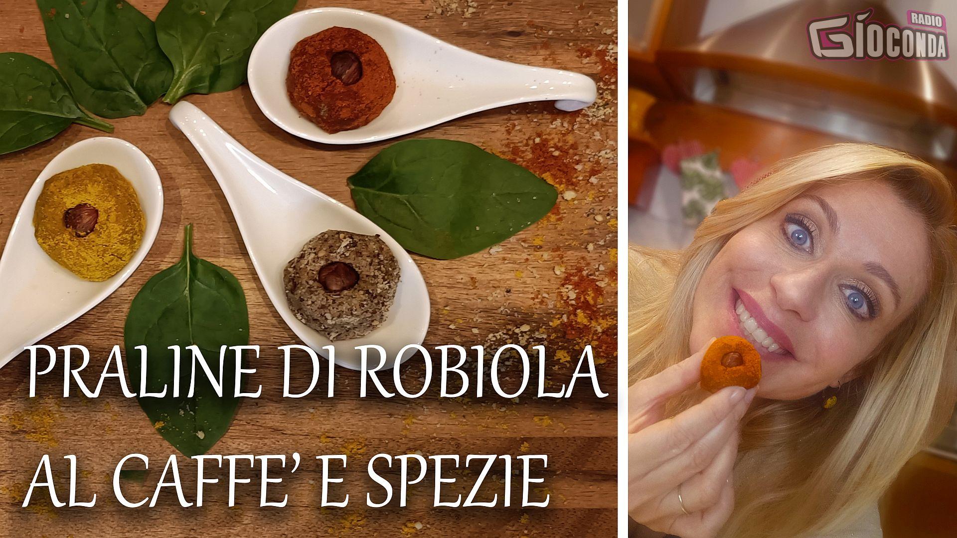 Praline di Robiola al Caffè e Spezie