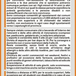 Il Friuli Venezia Giulia da lunedì 12 aprile è in AREA ARANCIONE #covid19 #covid #regionefriuliveneziagiulia