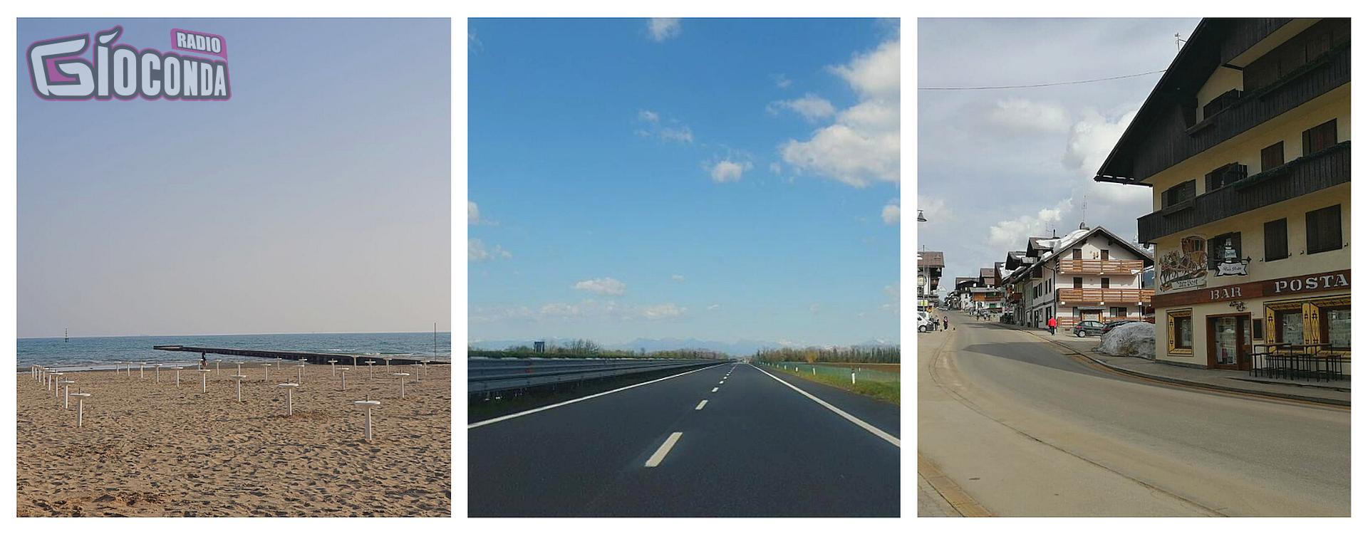 Autostrada deserta il giorno di Pasqua: dal mare ai monti tutti diligenti