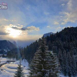 Vento, neve e pioggia con temperature in sensibile calo in tutta la regione 2021