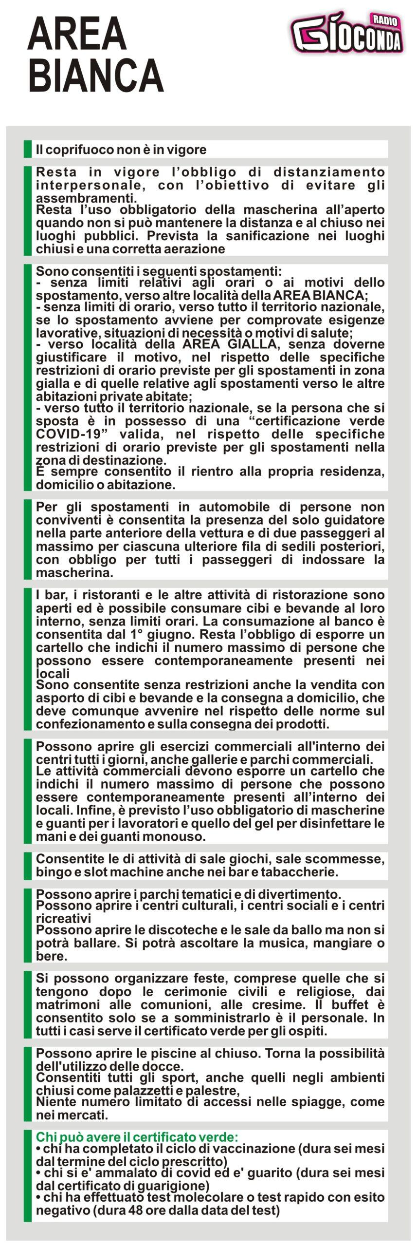 Il Friuli Venezia Giulia dal 31 maggio è in ZONA BIANCA #covid19 #covid #regionefriuliveneziagiulia