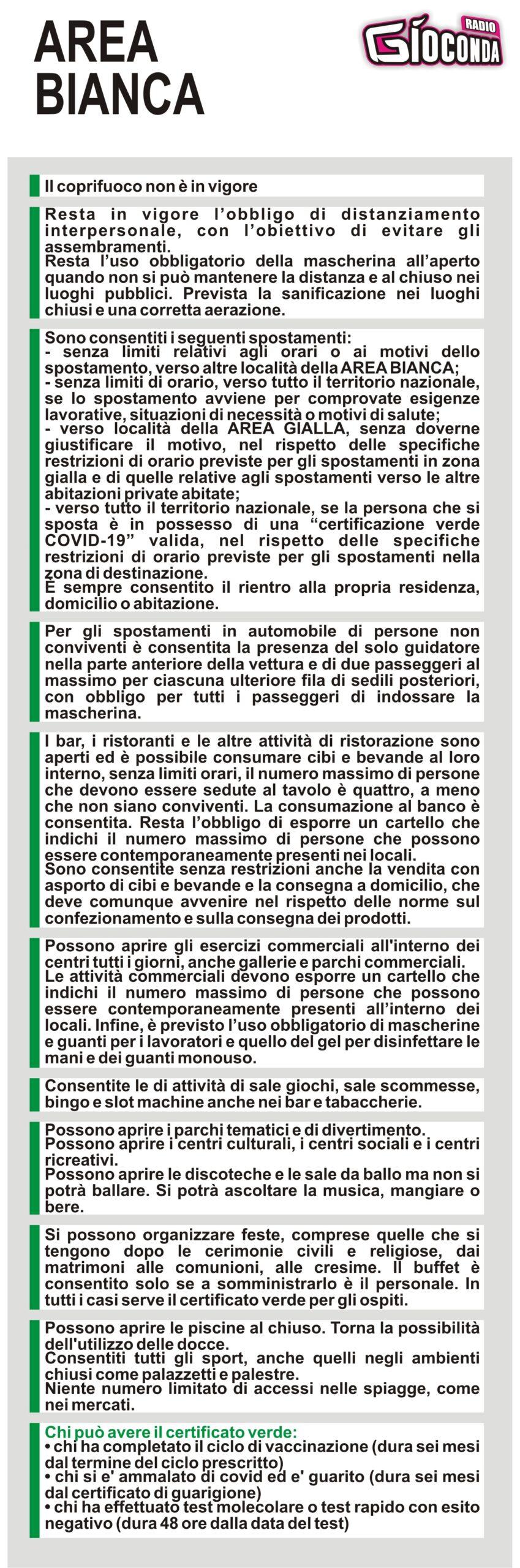 Il Friuli Venezia Giulia è in ZONA BIANCA #covid19 #covid #regionefriuliveneziagiulia