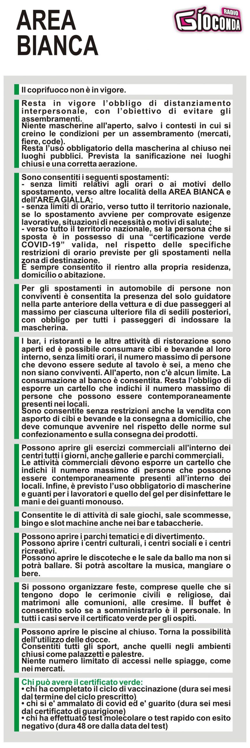 Il Friuli Venezia Giulia è in AREA BIANCA #covid19 #covid #regionefriuliveneziagiulia