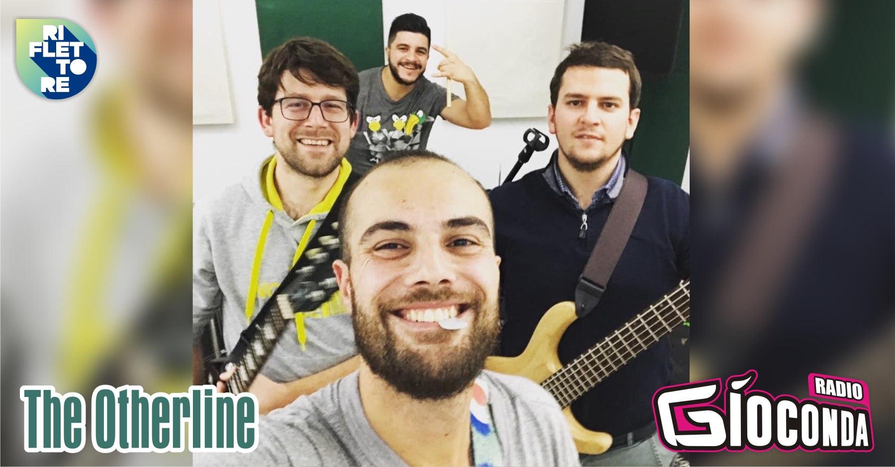 """L'ospite di """"Riflettore"""" di venerdì 15 ottobre è Pierre Mazzucco, il bassista della band The Otherline. La formazione, che lo scorso agosto ha partecipato alla selezione FVG del contest musicale Sanremo Rock, ha all'attivo numerosi live anche oltre i confini regionali."""